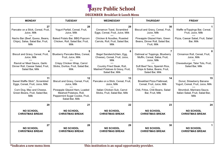Elk Island School Supply List